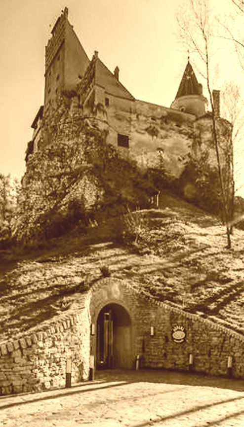 Bran Castle secret tunnel, the Time Tunnel, exit