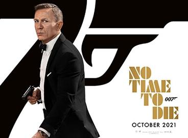 No Time to Die official poster Daniel Craig James Bond 007