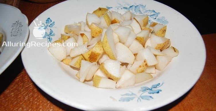 груши кубиками - alluringrecipes