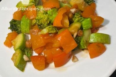 Стир-фрай овощной