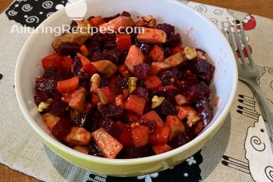 Alluringrecipes.com - Винигрет с авокадо