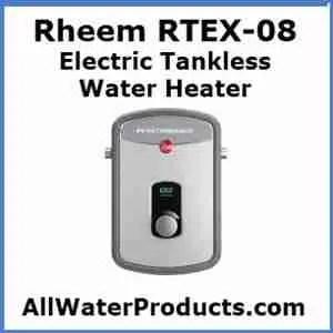 8 rheem electric tankless water heater