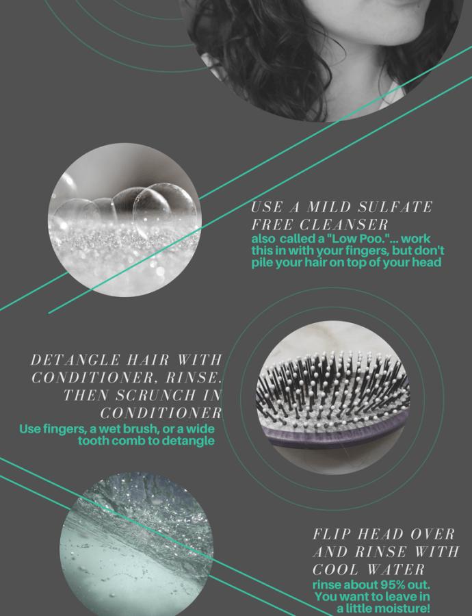 Wavy Hair Wash and Go Routine (2a/2b Wavy Hair)- Spring 2018