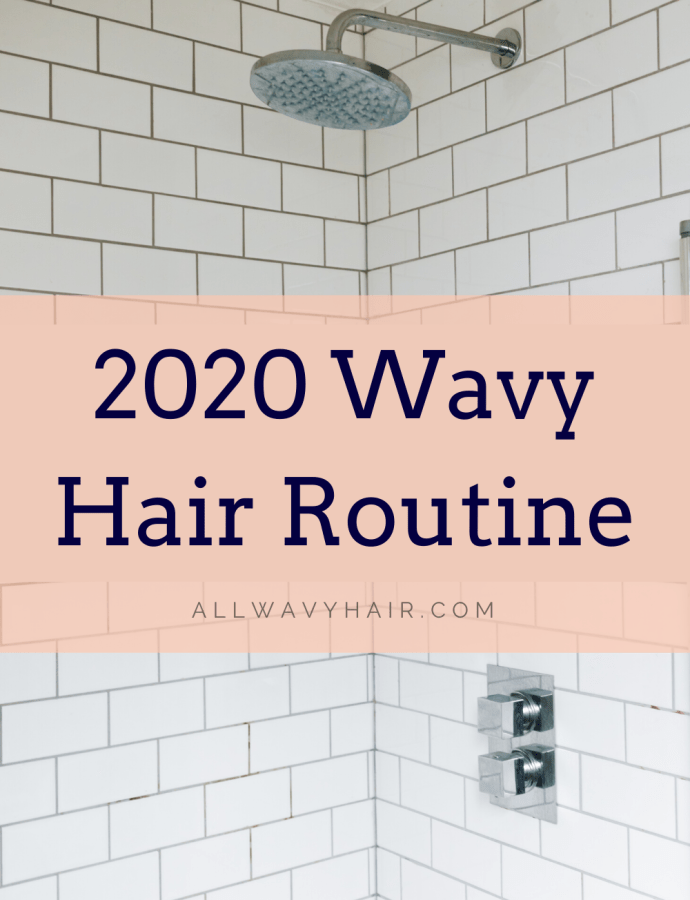 2020 Hair Routine for 2a 2b Wavy Hair – Wavy Hair Curly Girl Method Routine Budget Affordable Wavy Hair Curly Hair Routine