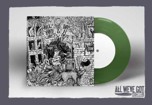 Rail Yard Ghosts / Days N' Daze Translucent Green Split EP