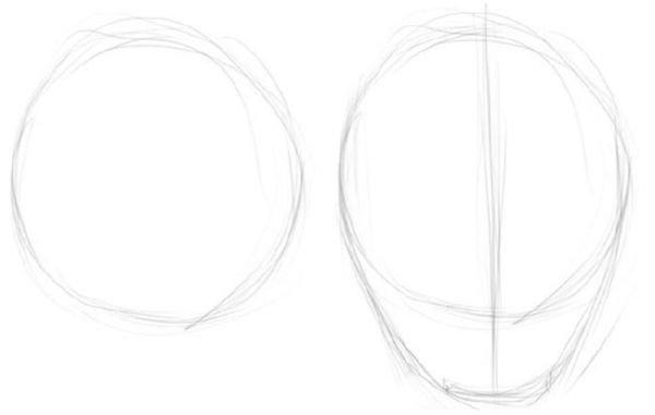12baae4ed1d Piklikud jooned määravad iga silma koha ja nende vaheline kaugus (peab  vastama silma suurusele). Samamoodi märkige nina piirkond.