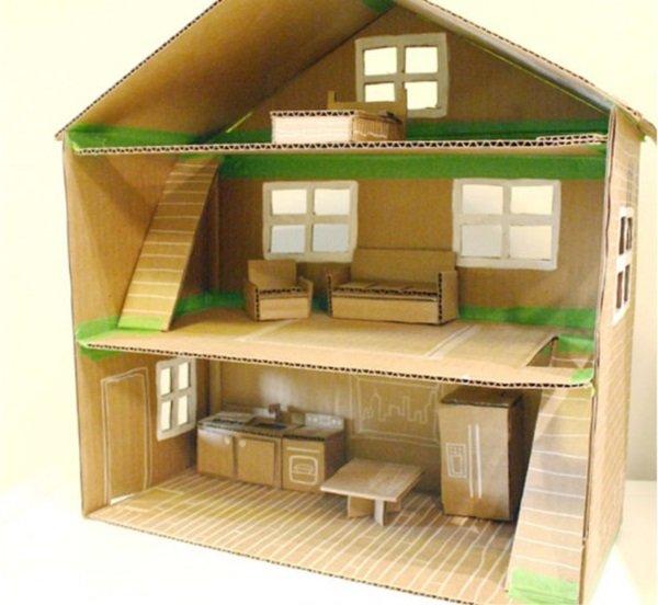 кукольный дом из фанеры своими руками пошаговая инструкция
