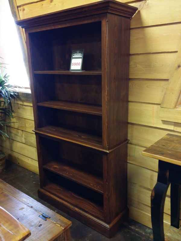 Cypress Bookcase UL Store UL 31 SOLD ALL Wood Furniture