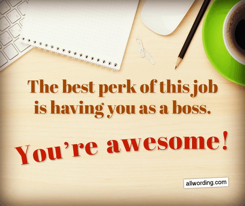 24 Unique Happy Boss's Day Messages » AllWording.com