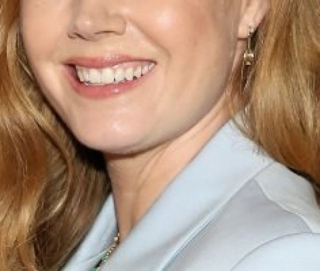 Amy Adams Pairs Pantsuit With Peek A Boo Bra At Sharp Objects Premiere