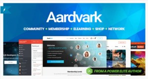 Read more about the article Aardvark 4.34 – Community, Membership, BuddyPress Theme