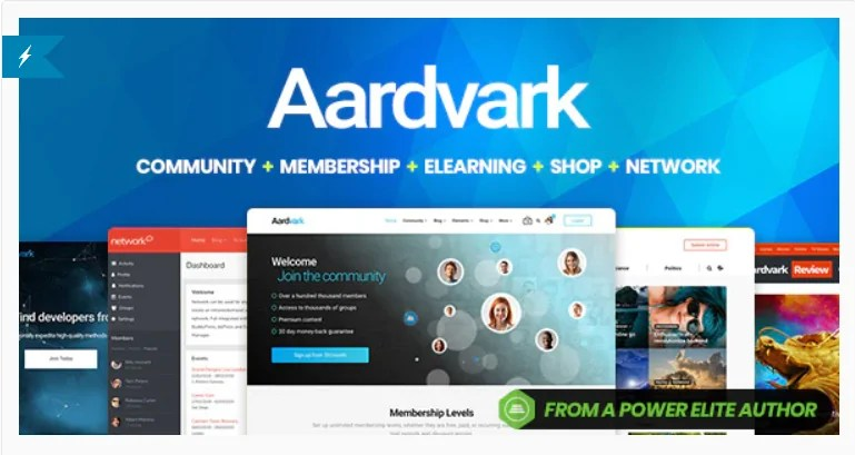 You are currently viewing Aardvark 4.38 – Community, Membership, BuddyPress Theme