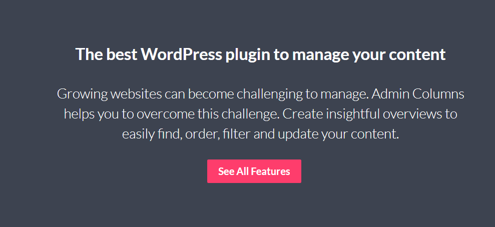 You are currently viewing Admin Columns Pro 5.5.3 NULLED (+ Addons) – Column Manager Plugin