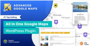 Read more about the article Advanced Google Maps 5.2.7 – WordPress Plugin