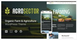 Read more about the article Agrosector 1.4.2 Nulled – Agriculture & Organic Food WordPress Theme