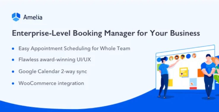You are currently viewing Amelia 4.0.1 – Enterprise-Level Appointment Booking WordPress Plugin
