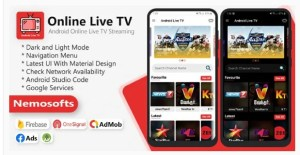 Read more about the article Android Online Live TV Streaming 5.0.0 NULLED