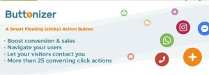 Read more about the article Buttonizer Premium 2.2.1 NULLED – Smart Floating WordPress Action Button