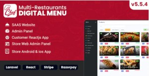 Read more about the article Chef 6.1.0 – Multi-restaurant Saas – Contact less Digital Menu Admin Panel