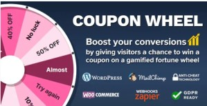 Read more about the article Coupon Wheel 3.3.9 – WooCommerce And WordPress Plugin
