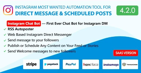 You are currently viewing DM Pilot 5.0.0 – Instagram Most Wanted Automation Tool