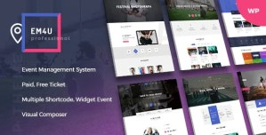 Read more about the article EM4U 1.4.2 – Events WordPress Theme for Booking Tickets