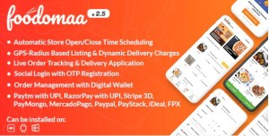 Read more about the article Foodomaa 2.4.0 NULLED – PHP Script