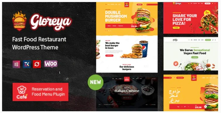 You are currently viewing Gloreya 2.0.5 – Restaurant Fast Food & Delivery WooCommerce Theme