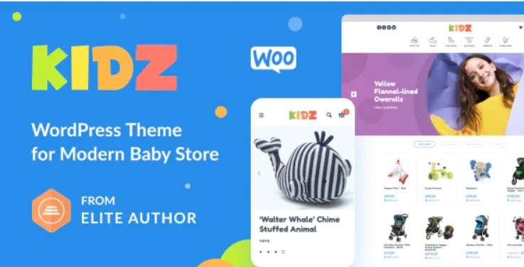 You are currently viewing KIDZ 4.11 – Baby Shop & Kids Store WordPress WooCommerce Theme