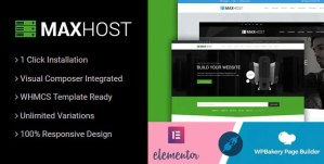 Read more about the article MaxHost 7.6.1 – Corporate Business WordPress Theme