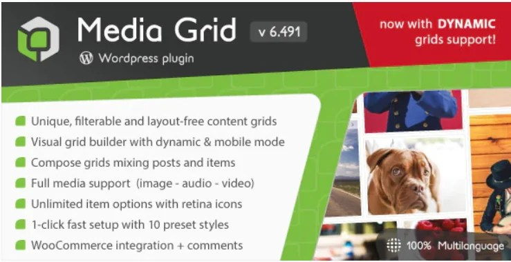 You are currently viewing Media Grid 7.0.8 – WordPress Responsive Portfolio