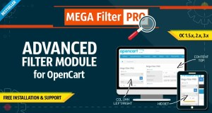 Read more about the article Mega Filter PRO 2.0.4.9.9 – Filter for OpenCart