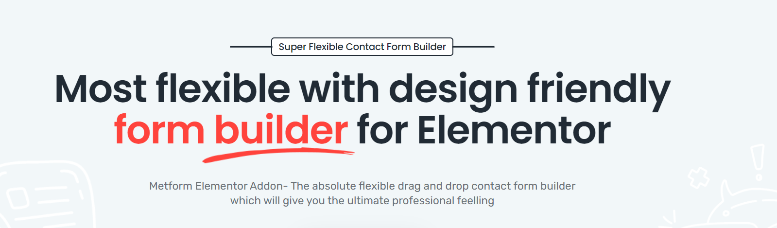 You are currently viewing MetForm Pro 1.3.2 NULLED – WordPress Elementor Form Builder