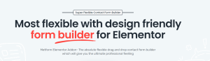 Read more about the article MetForm Pro 1.3.2 NULLED – WordPress Elementor Form Builder