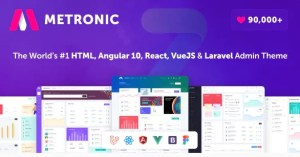 Read more about the article Metronic 8.0.21 – Responsive Admin Dashboard Template