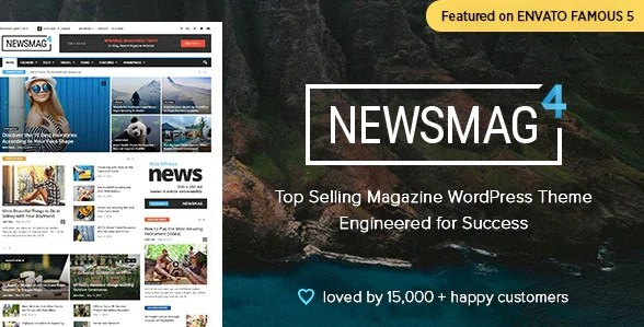 You are currently viewing Newsmag 5.1 NULLED – Newspaper & Magazine WordPress Theme