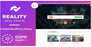 Read more about the article Reality 2.5.9 – Estate Multipurpose WordPress Theme