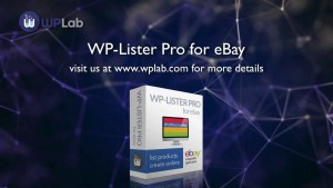 Read more about the article WP-Lister Pro for eBay 2.8 – WordPress Plugin