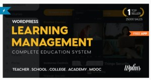Read more about the article WPLMS 4.1 Nulled – LMS for WordPress Education Theme