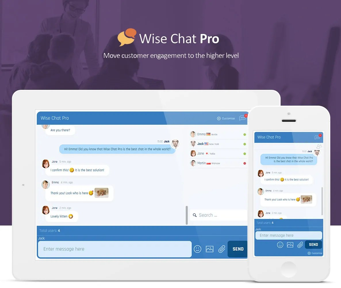 You are currently viewing Wise Chat Pro 2.5.5 – Chat for WordPress