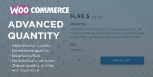 Read more about the article WooCommerce Advanced Quantity 3.0.0 – WordPress Plugin