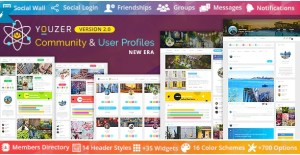 Read more about the article Youzer 2.6.2 + Addons – Buddypress Community & User Profiles
