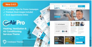 Read more about the article AirPro 2.6.8 – Heating and Air conditioning WordPress Theme