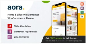 Read more about the article Aora 1.1.5 – Home & Lifestyle Elementor WooCommerce Theme