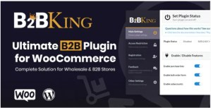 Read more about the article B2BKing 3.7.1 – The Ultimate WooCommerce B2B & Wholesale Plugin