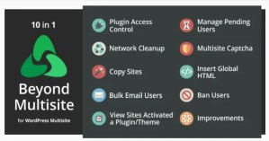 Read more about the article Beyond Multisite 1.13.0 – Utilities for WordPress Network Admins