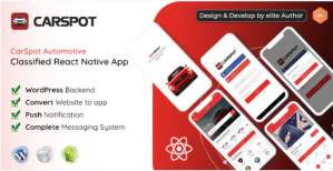 Read more about the article CarSpot 1.8 – Dealership Classified React Native App