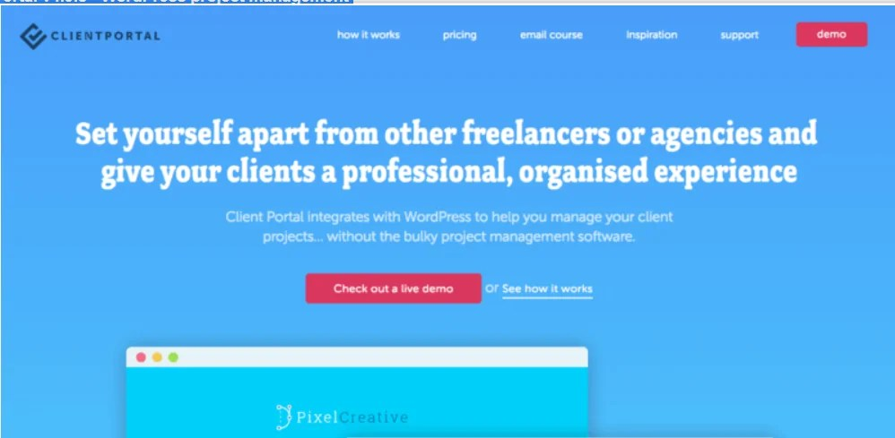 You are currently viewing Client Portal 4.11.1 – WordPress Project Management