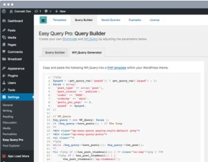 Read more about the article Easy Query Pro 2.3.1.1 – Query Builder for WordPress