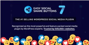 Read more about the article Easy Social Share Buttons 7.9 Nulled – WordPress Plugin
